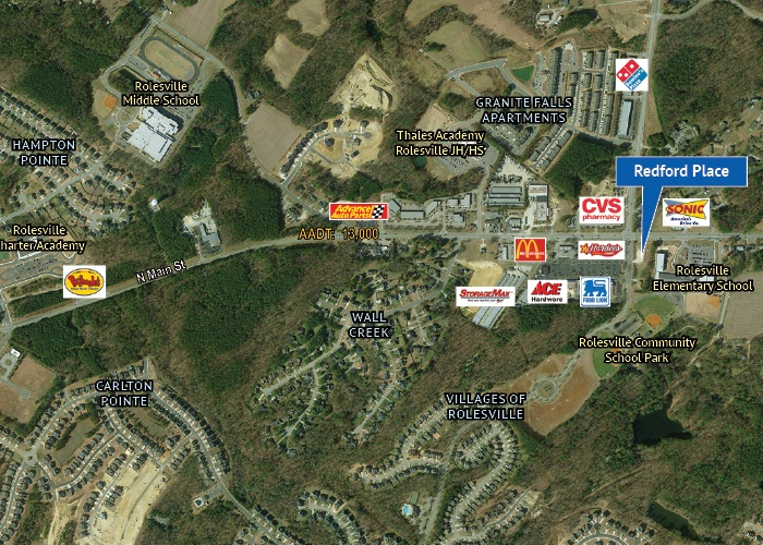 101 Redford Place Drive, Rolesville, North Carolina, ,Office / Retail / Medical,For Lease,101 Redford Place Drive,1013