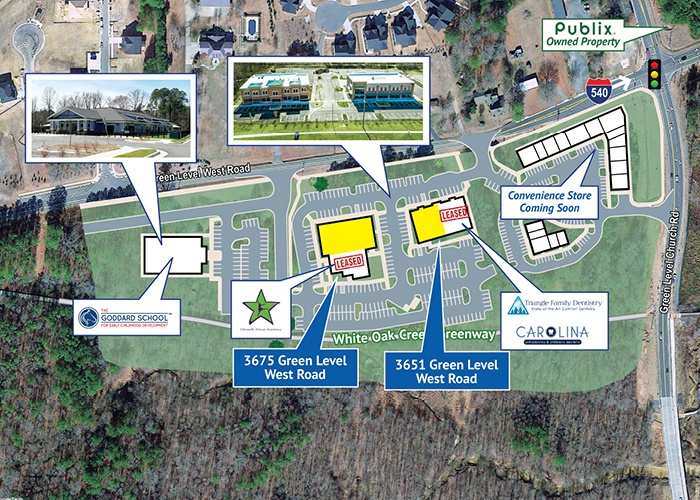 3651 Green Level West Road, Apex, North Carolina, ,Office / Retail / Medical,For Lease,3651 Green Level West Road,1004
