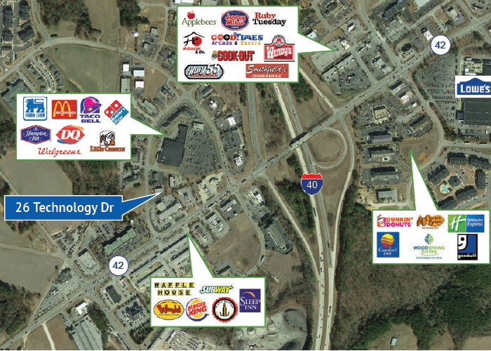 26 Technology Drive, Garner, North Carolina, ,Office / Retail / Medical,For Lease,26 Technology Drive,1006